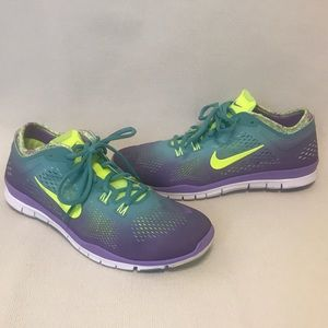 Nike Free Training Shoe - Ombré Purple - Size 9.5